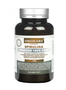 Spirulina 100% powder 100 g Singularis