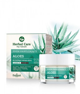 Herbal Care krem nawilżający ALOES 50 ml