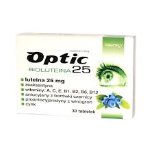Optic bioluteina 25  30 tabletek
