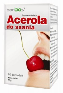 Acerola do ssania x 60 tabl