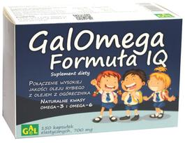 Black Friday GALOMEGA FORMUŁA IQ 150 kaps Gal
