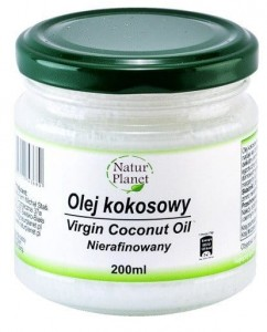 Olej kokosowy 200ml Natur Planet