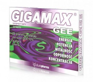 Gigamax GEE x 30 tabl