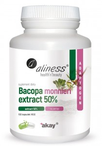 Bacopa monnieri extract 50% 100 paps Aliness
