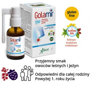 Golamir 2Act spray bezalkoholowy 30ml  Aboca