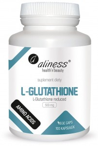 L-Glutathione reduced 500 mg x 100kap Aliness
