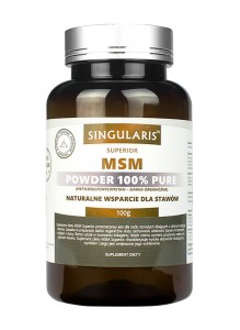 MSM 100% powder 100 g Singularis