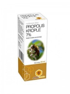 Propolis krople 7%  20ml Apipol Farma