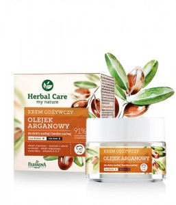Herbal Care krem odżywczy OLEJEK ARGANOWY 50 ml
