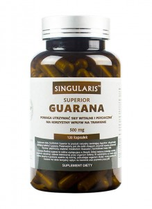 Guarana 500 mg 120 kaps Singularis