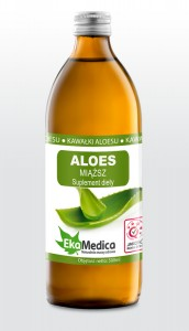 Aloes z miąższem 500 ml