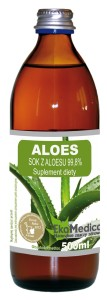 Aloes 99,8 % soku z aloesu 500 ml
