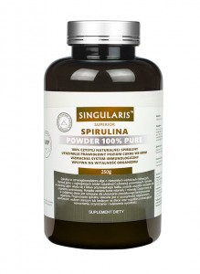 Spirulina 100% powder  250 g Singularis