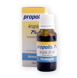 Propolis krople 7% 20 ML Farmapia