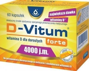 BLACK FRIDAY D-VITUM FORTE 4000 j.m witamina D  x 60 kaps