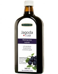 Jagoda plus 5 ziół 500 ml