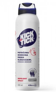 Kick the Tick Max spray 200ml (na komary,kleszcze i meszki)